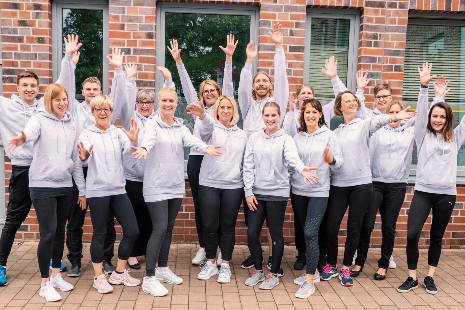 Das gesamte Team von Physiotherapie Tanja Borgelt